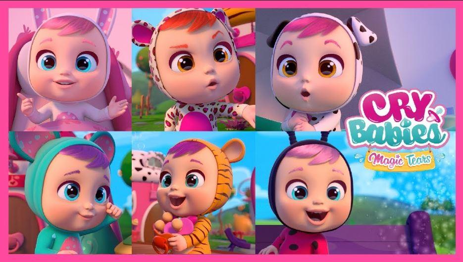 Disegni Da Stampare E Colorare Cry Babies Magic Tears In Pdf Gbr