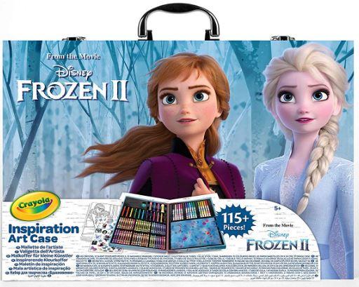 valigetta dell'artista di Frozen 2 elsa crayola prezzo italia