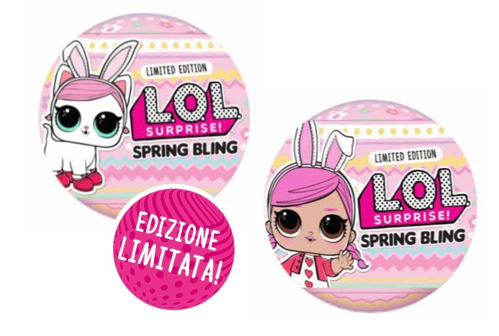 LOL Surprise Spring Bling Italia prezzo