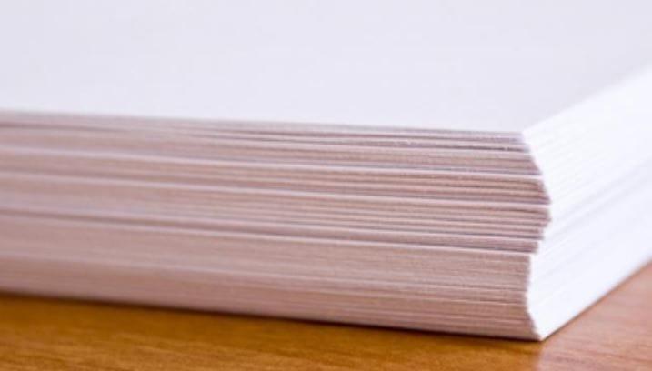 80 g//mq Risma di carta bianca Papyrus formato DIN A4 500 fogli