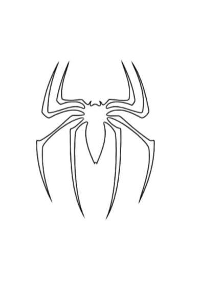 Disegni Di Spiderman Da Stampare E Colorare Pdf A4 Bianco Nero Gbr