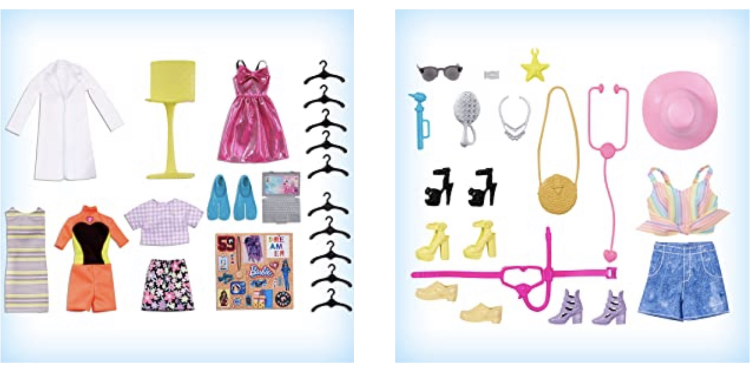 Accessori nell'Armadio di Barbie 2020